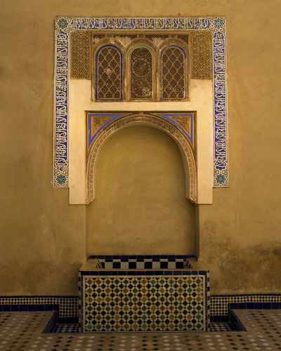 Marrakech Morroco Architecture Built Structure Indoors  No People Arch History Pattern Art And Craft Creativity Ornate EyeEm Best Shots EyeEm Best Edits Travel Traveling