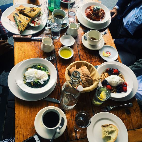 Mealtime Saturday Brunch Brunch Father's Day Poached Eggs  Coffee Vibes Meatballs Coffee ☕ Soho West Village