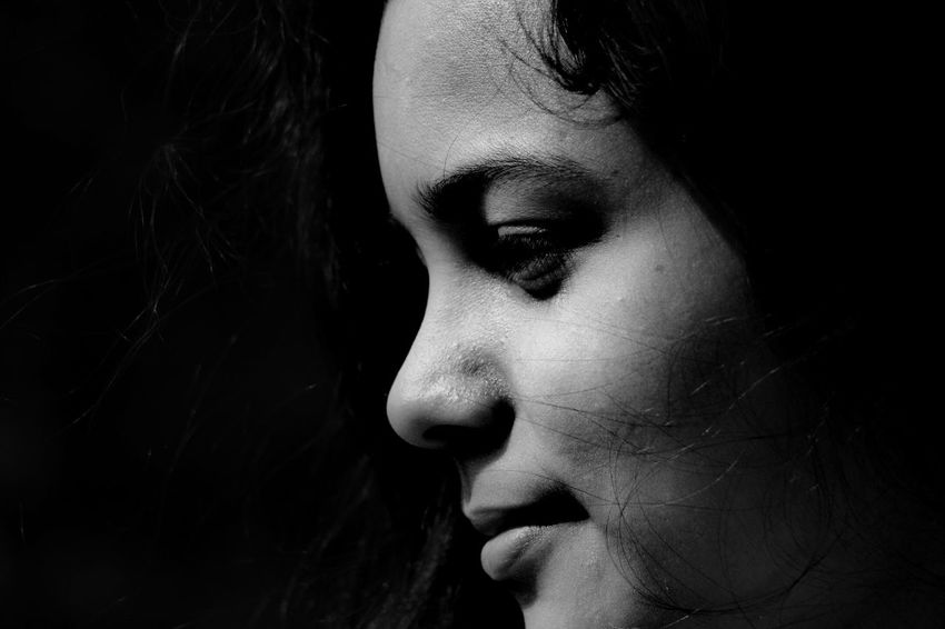 Black Human Face Adult Beauty Only Women Make-up Stage Make-up Fine Art Portrait Women Females Profile View Beautiful Woman Fashion Black And White Collection  Backgrounds Jamshedpur Eveningshot Dark Black White Outdoors Happiness Streetphotography Black And White Collection  ShubhamTanmayPhotography Horizontal The Week On EyeEm Done That. Black And White Friday EyeEmNewHere Black And White Friday