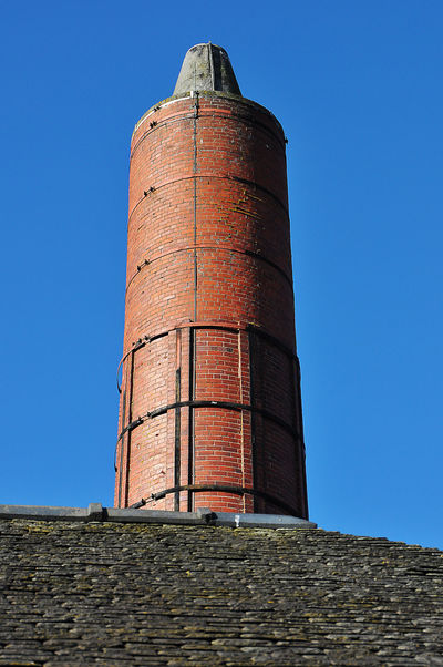 Architecture Bangour Hospital Bangour Village Hospital Blue Building Exterior Built Structure Chimney Chimneys Clear Sky Exterior Red Brick Red Bricks Tall - High Tower Victorian Victorian Architecture