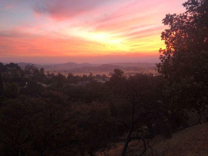 Sunrise Sky Orange Color Beauty In Nature Scenics - Nature Tranquility Cloud - Sky