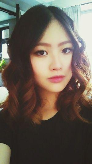 Hairstyle Selfie Makeup New Haircut