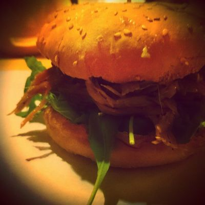 Pulledpork Burger ?