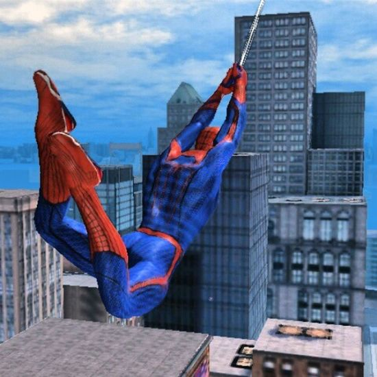 Nowplaying The Amazing Spiderman @gameloft on my phone?????✨