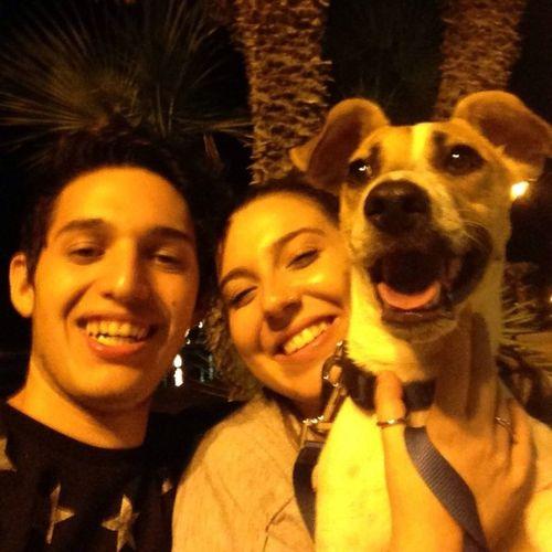 Tre facce sorridenti :3 Amorimiei Unbimboeunabimba Viamotanto Macchiapuzzona 👫 🐶❤