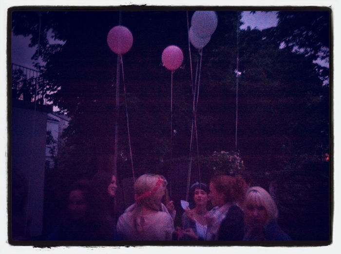 The Balloons Carried Our Wishes!
