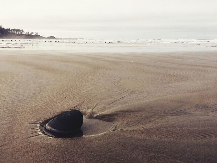 Sunken Sand Beach Shore Nature Sea Tranquility Outdoors