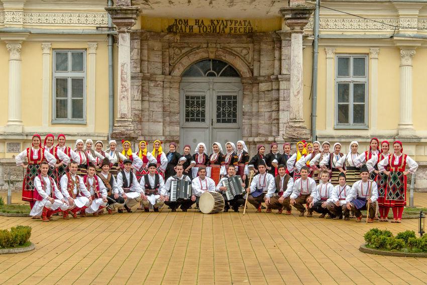 folk group TASE MILOSEVSKI, resen, macedonia, editorial picture Macedonia Boys Clothes Dance Group Editorial  Folk Dance Folk Group Folk Music Girls Prespa Lake Resen Sarajevo Tase Milosevski