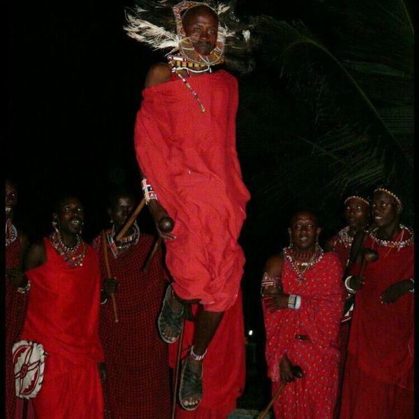 Masai Watamu Warriors Jump!