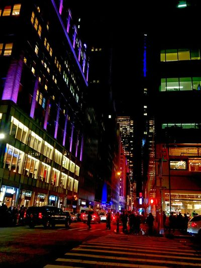 Illuminated City City Life Travel Destinations Architecture Cityscape Night City Street NYC Photography NYC Bryant Park  Bryant Park NYC