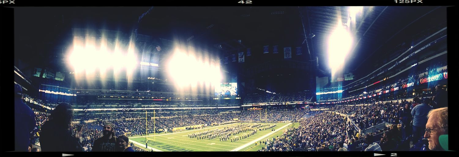 Football Notre Dame Indianapolis