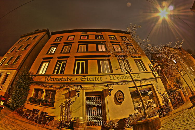 Nightrip stuttgart Taking Photos Stuttgart Weinstube Nightphotography Nachtfotografie Fisheye Fisheye Lens Fenster Laterne HDR Hdr_Collection Stuttgart City Stetter Weinhandel