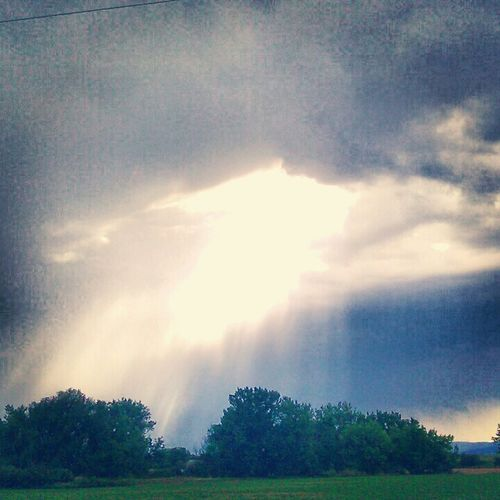 Colorado skys, after rain, summer afternoon, sun beams,let the angels fall