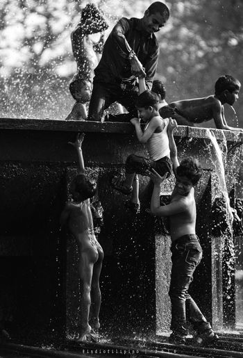 Motion Splashing Lifestyles Real People Water Outdoors Water Park Streetlife Liveoutdoors People Travel Photography Streetphoto_bw Lonelyplanet Whynotportraits Dailydoseofstreet Travel Destinations Streetphotography Blackandwhite