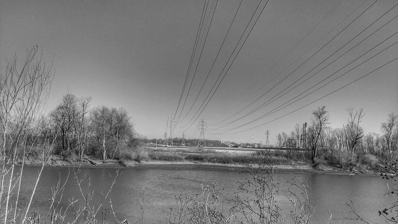 Black And White Riverside Photography Mother Vs Nature Electr⚡️cal L❤️ve Industrial Landscapes For The Love Of Black And White Teszars Woods Meramec River