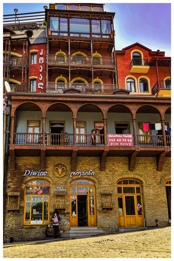 Travel Destinations Turistic Attractions Tredition City Balcony Statue Architecture Building Exterior Built Structure Sky