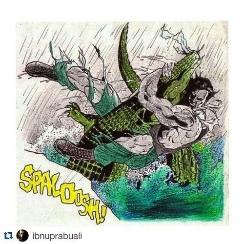 Repost @ibnuprabuali with @repostapp ・・・ Punisher ThePunisher Marvel Comic Art Drawing Comic Frankcastle Crocodile Aligator Beast Illustration Drawing Draw Picture Artist Sketch Sketchbook Paper Pen Pencil Artsy Instaart Gallery masterpiece creative instaartist graphic graphics