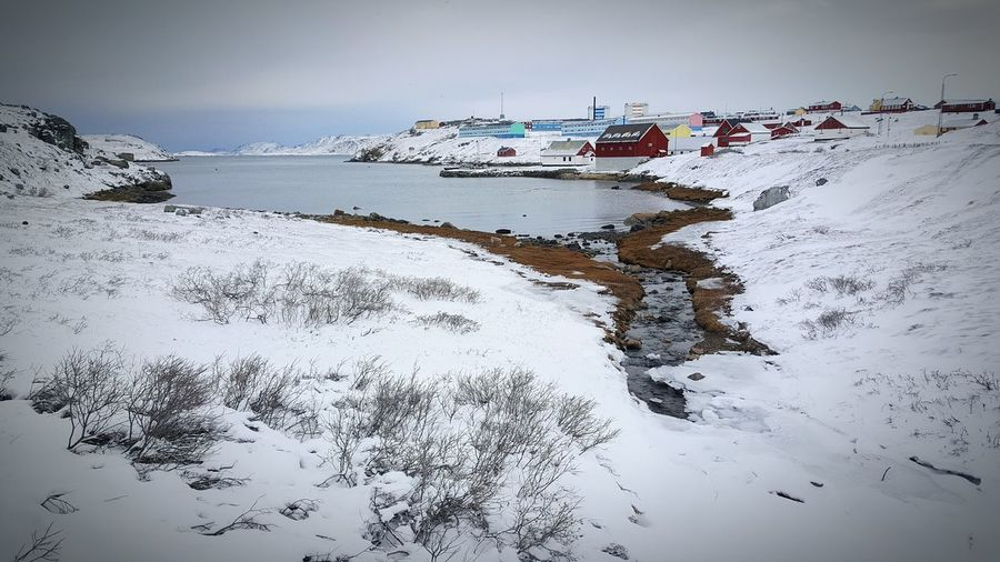 Narsaq Southgreenland Greenland Kalaallitnunaat Peacefulplace Wheretorelax Relaxingview Ilovewhereilive Snowyplace Snowstorm Walkedtowork Inastormyweather Freshairtoinhale Classicwintersday Eyeemtosee Haveagreatchristmaseveryone Only5daysmore