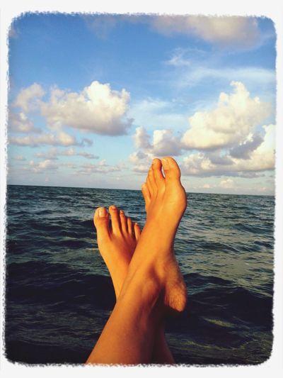 I love sea Sea And Sky Enjoying Life Relaxing Nature