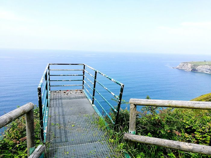 Sea Horizon Over Water Nature Sky Water Outdoors Beauty In Nature Travel Destinations Gijon_asturias Sommergefühle