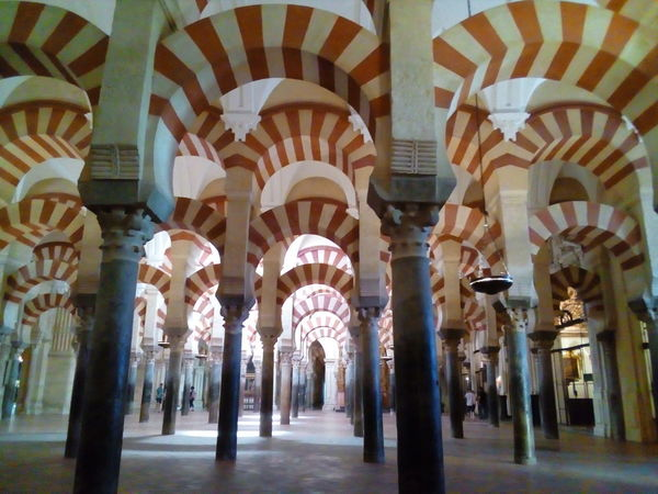 Architectural Column Architecture Indoors  No People Day Mezquita De Córdoba Córdoba SPAIN Enjoying The View Peace And Quiet Monumento Monumental Buildings Monumental  Oriental Style