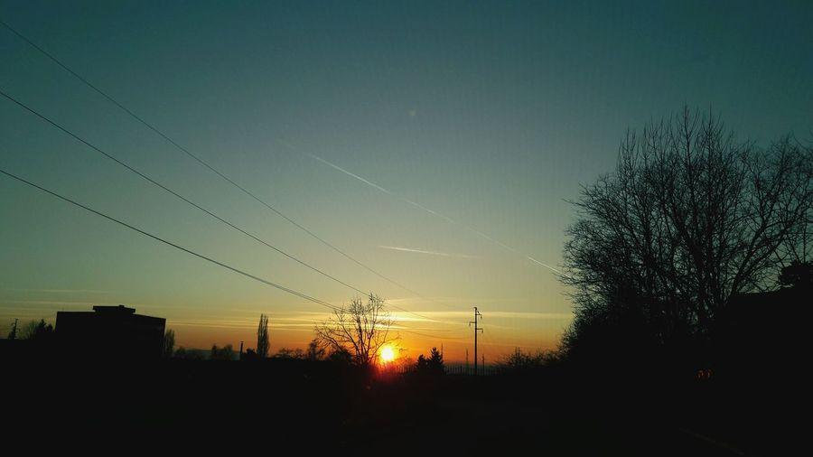 Sun Sunset No