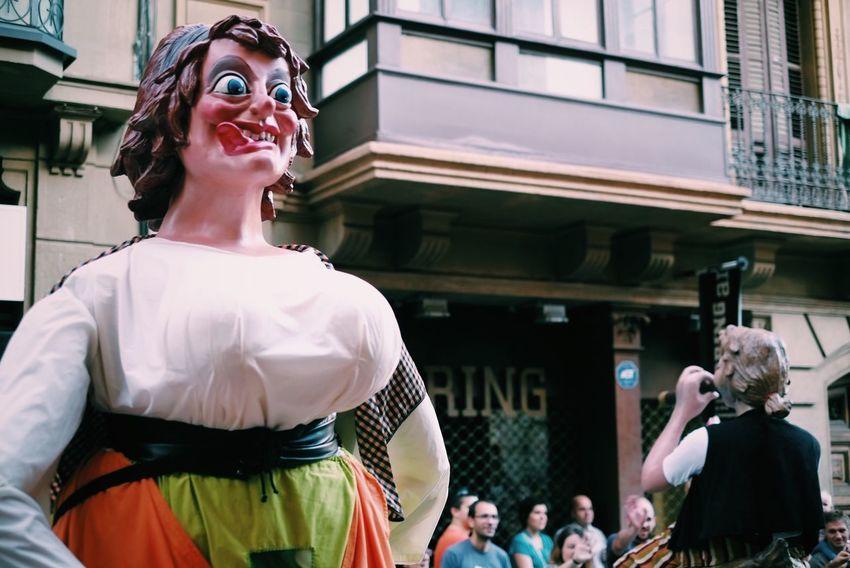 La Mercè   2016 Gegants Capgrossos Lamerce Bcn Streetphotography Street Cavalcada Fiesta Festa Barcelona Catalunya Vscocam VSCO Crazyeyes Inspired Barcelonainspira Fujifilm_xseries