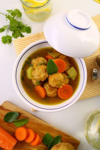 Seafood Meatball / Baso Seafood Baso Bowl Carrot Close-up Delicious Eat Food Freshness Indonesianfood Indulgence Kentang Meal Meatball No People Potato Ready-to-eat Seafood Served Serving Size Soup Still Life Wortel