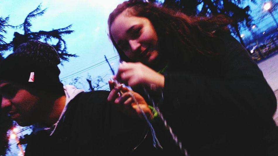 Sunday Afternoon Chile Amigosreunido Chelas Risas Weed Invierno 2015 Tejiendo Momentos