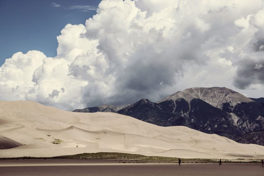 Great Sand Dunes Sand Coloradosky Alamosa Dunes Sand Dunes Landscape Sony A6000 The Great Outdoors - 2017 EyeEm Awards