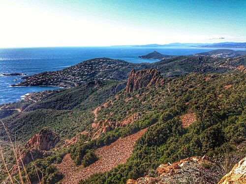 Saint Raphael Esterel Walking Around Mountains Mediterranean  Meditation Running Good Morning