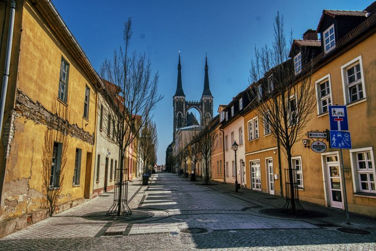 St.Jakob Architecture Building Exterior Built Structure Building City Street The Way Forward Direction Sky Residential District Place Of Worship Religion Nature Belief Spirituality Footpath The Past Town No People Outdoors Alley Row House