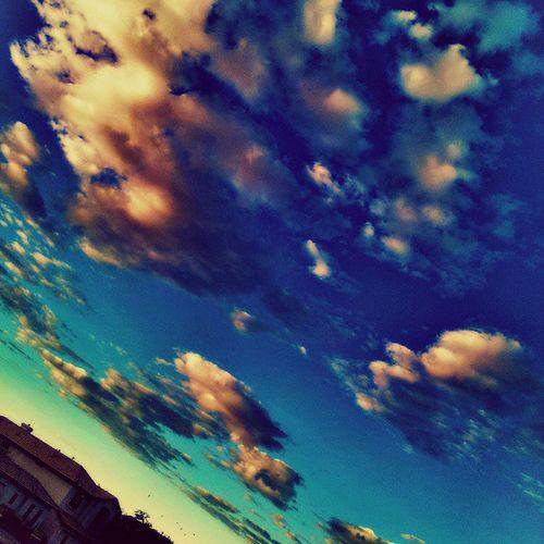 Instagramaz @arizonaskies Sunrise Cloudymorning Instasky Pretty Colorful Citylifeinaz Desertlivin @ibeautyofnature @____sun_rise_earth_____ Houses Birds Cloudwatching Fluffy Igersphx Igersonly Glendaleaz PixlrExpress Instagramhub Awesome Goodmorning Floatingonby :)