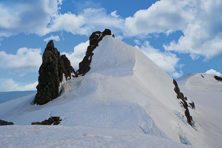 The summit of