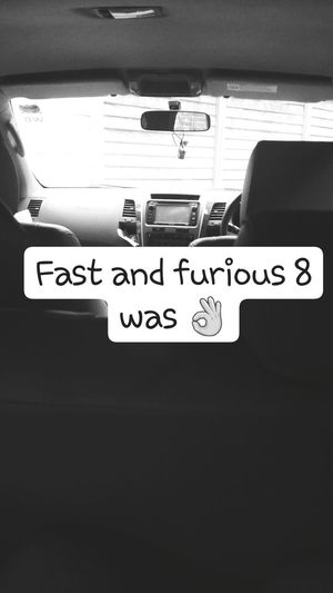 It was 🔥 Communication Car Day Fastandfurious8 Fast8