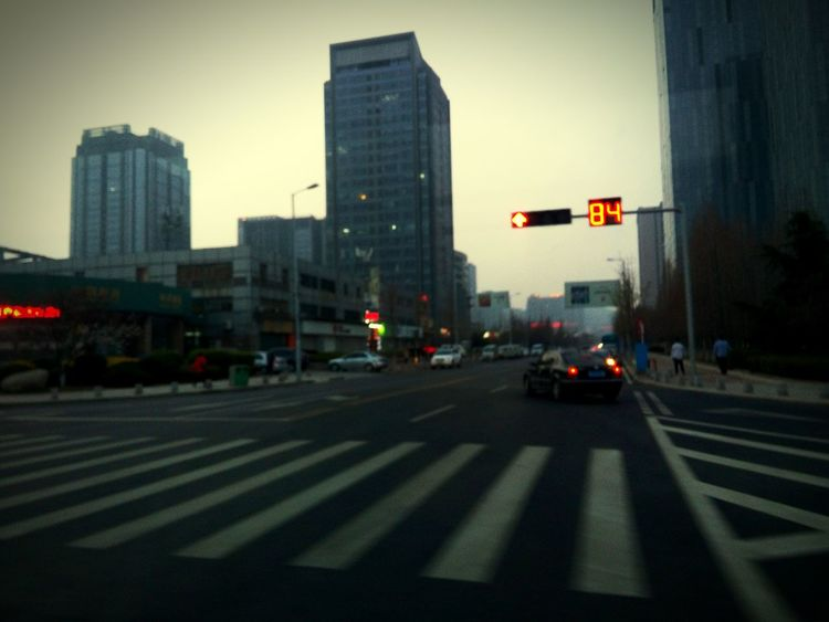 Qingdao Traffic Lights Crossroads