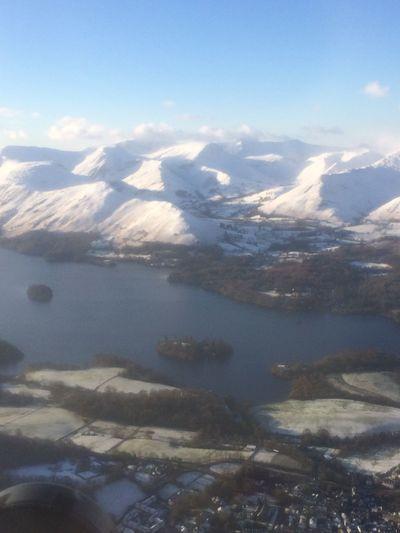 Seaking Mk4 Flying Aerial View Scotland