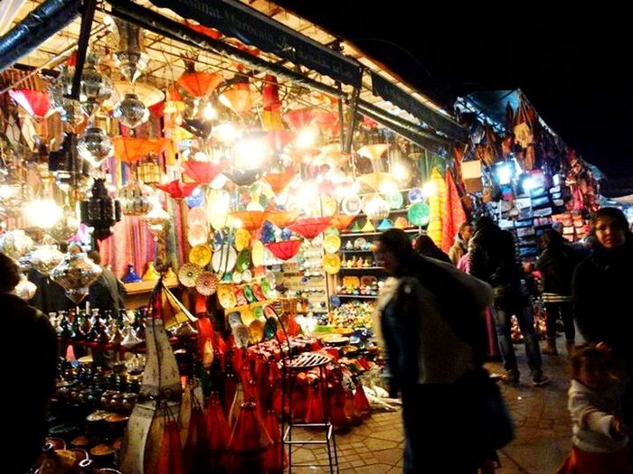 Morocco Hi! ランプ Hello World Morocco マラケシュ Taking Photos Colorful Night Lights Night View