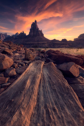 Amazing rock lines Arid Climate Beauty In Nature Cloud - Sky Environment Eroded Formation Geology Idyllic Mountain Mountain Peak Nature No People Non-urban Scene Outdoors Physical Geography Rock Rock - Object Rock Formation Scenics - Nature Sky Solid Sunset Tranquil Scene Tranquility Travel Destinations