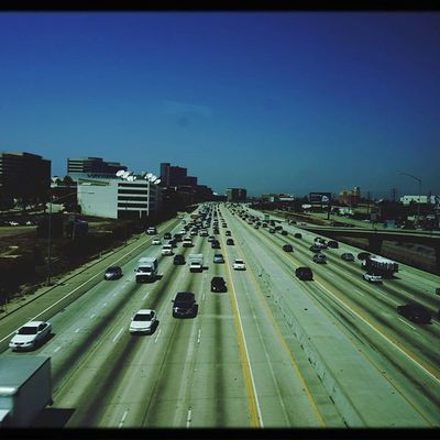 USA America California Losangeles Highway Cars Go 😚 Bluesky Skylovers