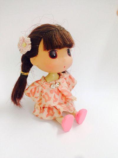 Doll Girl Cute Studio Shot