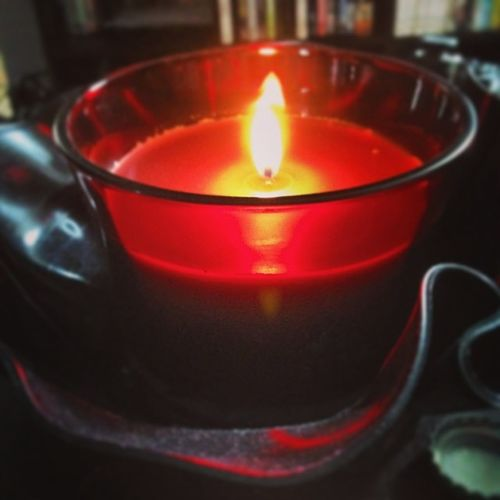 Candle in a Reccingbowl :)