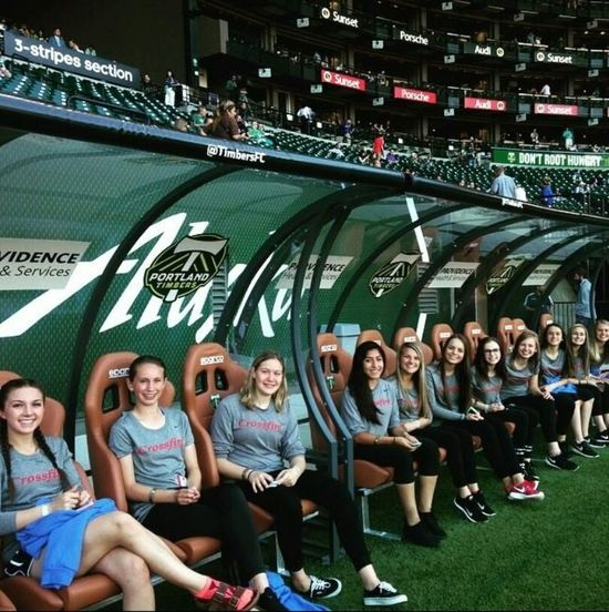 Girls Soccer Team ⚽ Ptfc Portland Timbers Bench Warmers Crossfire Oregon