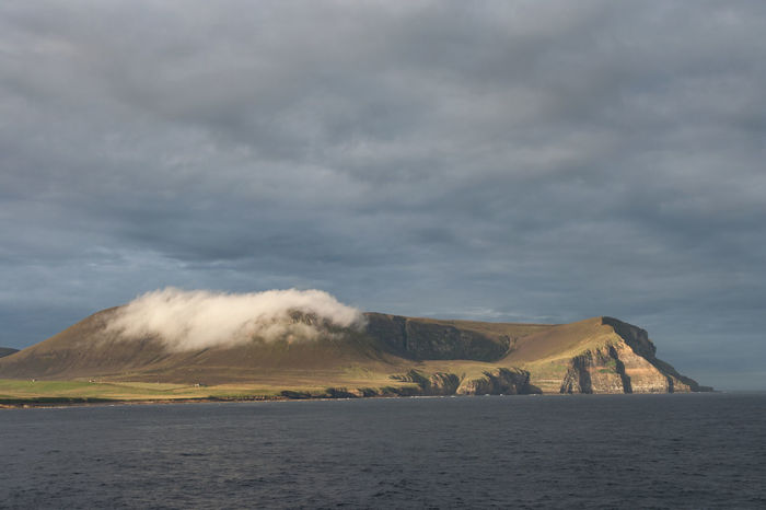 The Island of Hoy Orkney Islands Beauty In Nature Cloud - Sky Day Horizon Over Water Hoy Island Landscape Mountain Nature No People Outdoors Scenics Sea Sky Storm Cloud Tranquil Scene Tranquility Water Waterfront