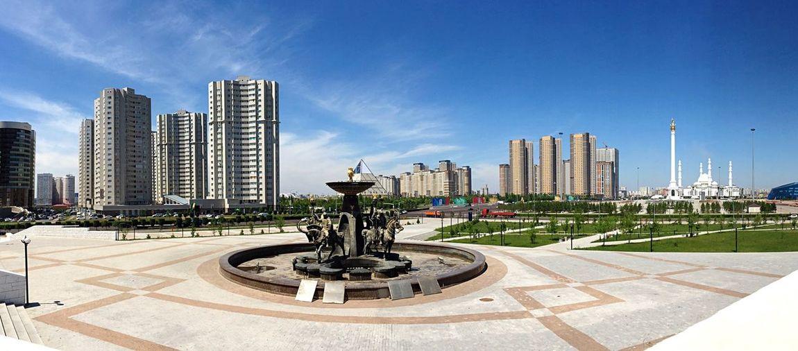 Breathe Of The Capital Astana Kazakhstan