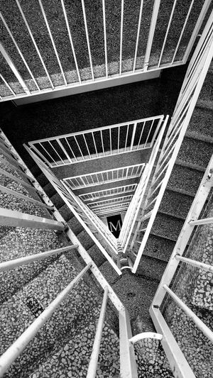 The M-house, Copenhagen Stairs Copenhagen Spiral Staircase EyeEm Best Shots Canon60d Photooftheday Capture The Moment EyeEm Best Edits Photographic Memory Light In The Darkness Streetphoto_bw EyeEm Best Shots - Black + White Canonphotography Discovering New Places