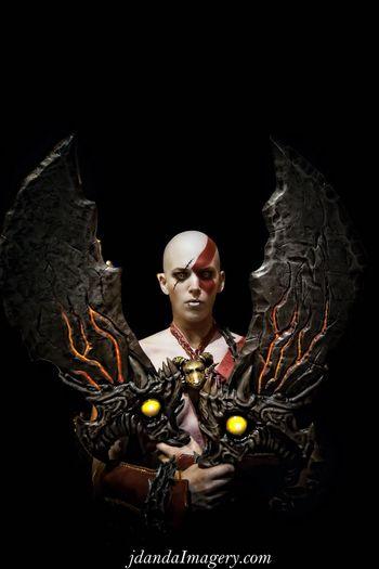 God Of War Jdanda Cosplay DragonCon Woman Bald