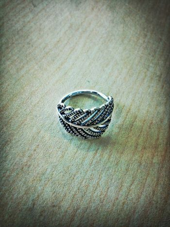 feather ring from pandora <3 fav