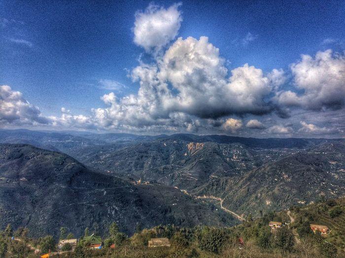 Mountain Mountain Range Beauty In Nature Nature Cloud