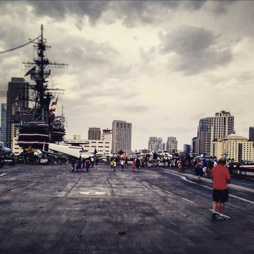 San Diego Courage Honor Photography Navy CA USS Midway  Bridge Travel
